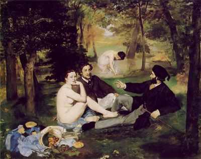 Dejeuner Sur L'herbe, By Edouard Manet
