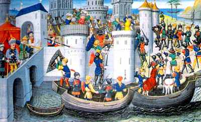 Fourth-Crusade-Capture-Of-Constantinople