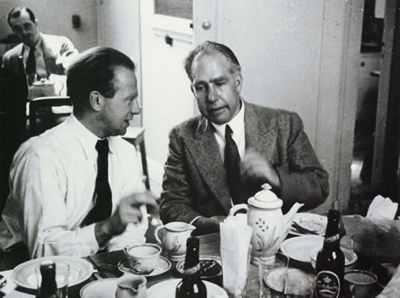 Werner Heisenberg Niels Bohr-1