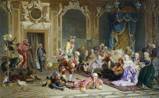 800Px-Jesters Of Empress Anna Ioanovna By V.Jacobi (1872)