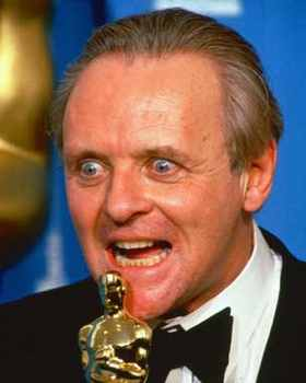 Anthony Hopkins Awarded Oscar