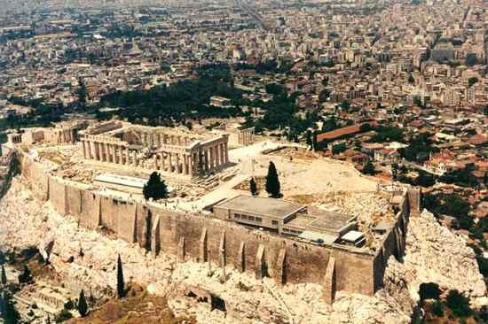 Acropolis Athens Greece Ert-1