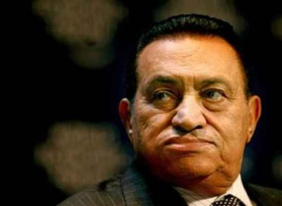 Mubarak-Flustered