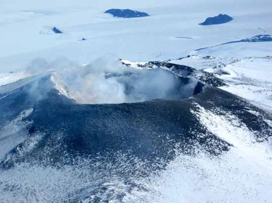 Mount Erebus In 2009