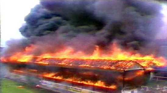 Bradford Fire Huge