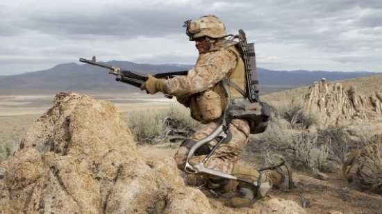 Hulc-Exoskeleton-Testing