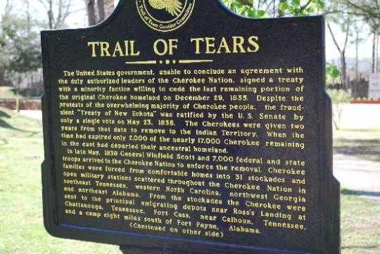 The-Trail-Of-Tears-Story