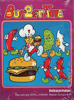  -Burgertime-Intellivision- 