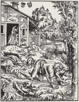 Werewolf-Woodcut-1512