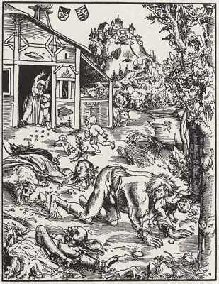 Werewolf-Woodcut-1512