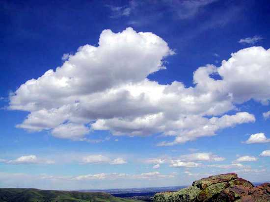 Cumulus Clouds In Fair Weather