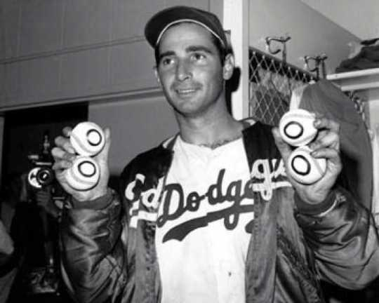 Sandy-Koufax-Balls Display Image