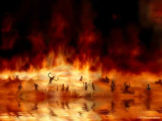 The Lake Of Fire - Revelations 20 Verse 15