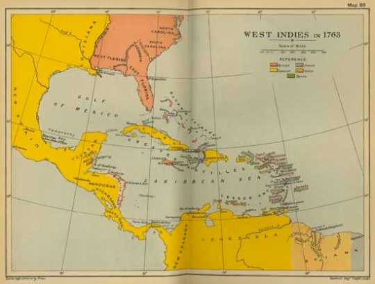 West Indies 1763