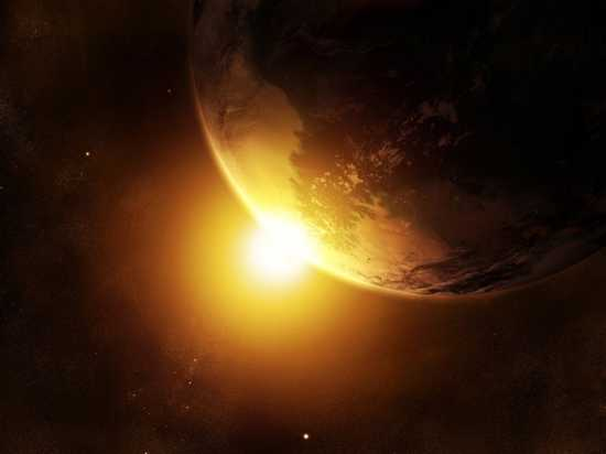 Sun And Earth Wallpaper Jaog