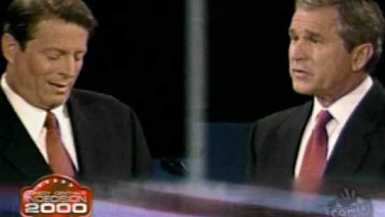 an essay on the debate of al gore and george w bush Each presidential election overview has always been similar to a three-ring circus, but in the 2000 election with al gore and george w bush, was by far one.
