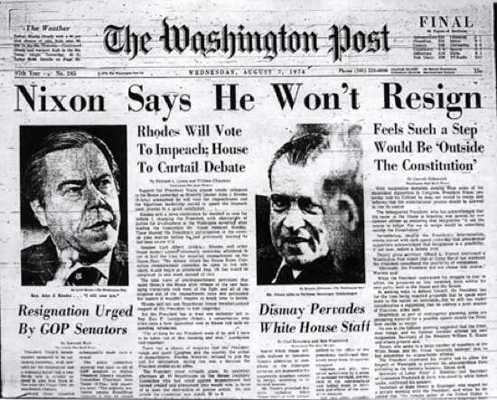 an analysis of watergate the biggest political scandal in the united states So it was called the watergate scandal then-president of the united states was the biggest political scandal to hit the united states in recent memory.
