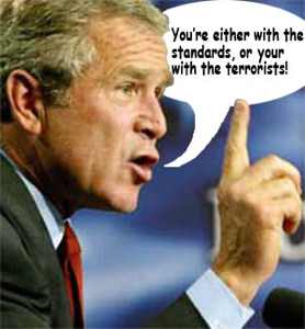 Bush-Standards-Terrorists
