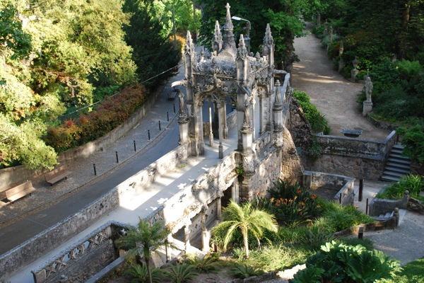 Sintra - Quinta Da Regaleira - Portal Da Entrada