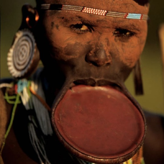 Surma Tribesman