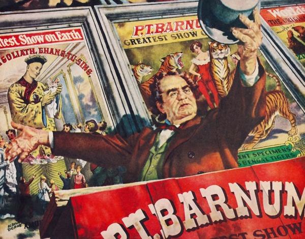 PT Barnum Poster