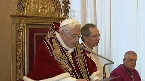 Pope Abdicates