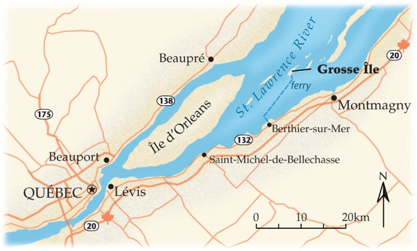 Grosse Ile Map Lg