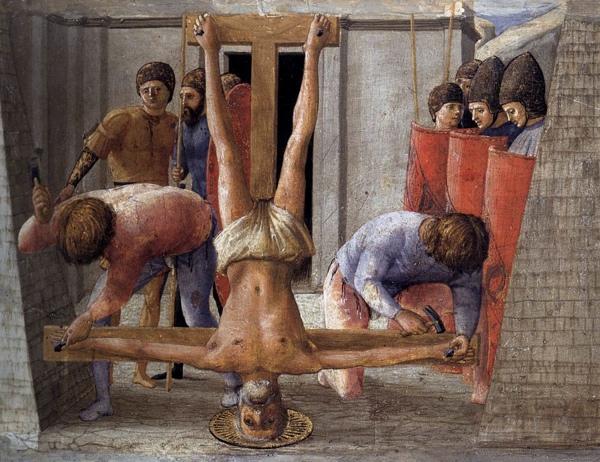 Masaccio Crucifixionofstpeter