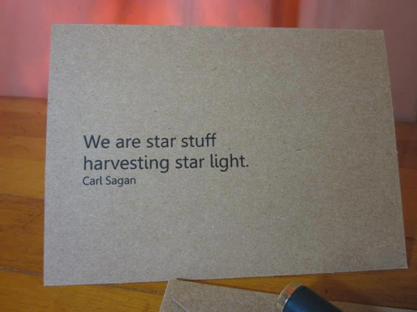 We Are Star Stuff Harvesting Star Light