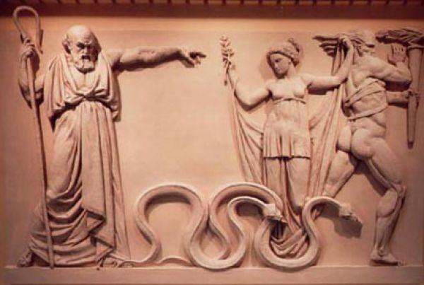 Ada74 St Patricks Day Snakes Folks Tale Saint Patrick Snake