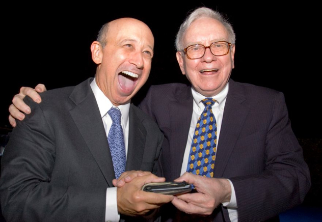 Warren Buffett Lloyd Blankfein