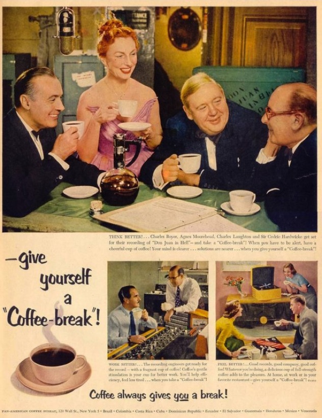Give-Yourself-A-Coffee-Break-1952-People-Took-Time-For-Coffee-Long-Before-This-But-The-Pan-American-Coffee-Bureau-Named-It