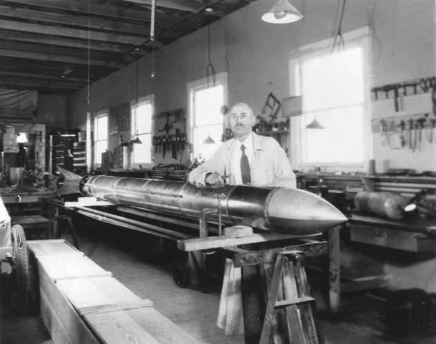 Dr. Robert Goddard Rocket