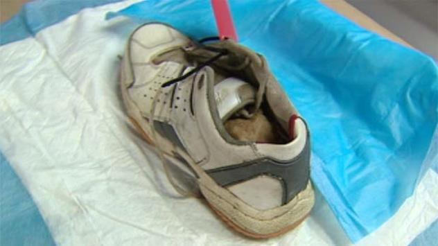Li-Bc-110831-Foot-Found-Shoe