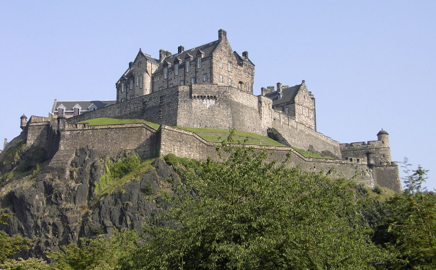 Schottland-Edinburgh_Castle