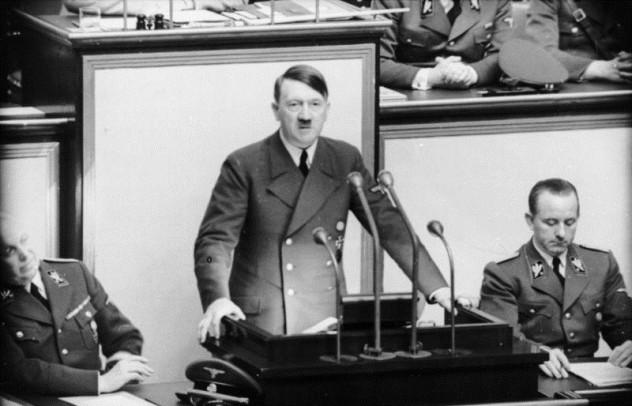 Berlin, Reichstagssitzung, Rede Adolf Hitler