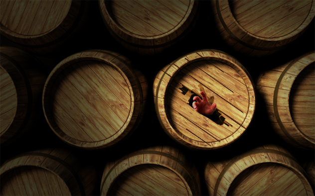 6- barrels