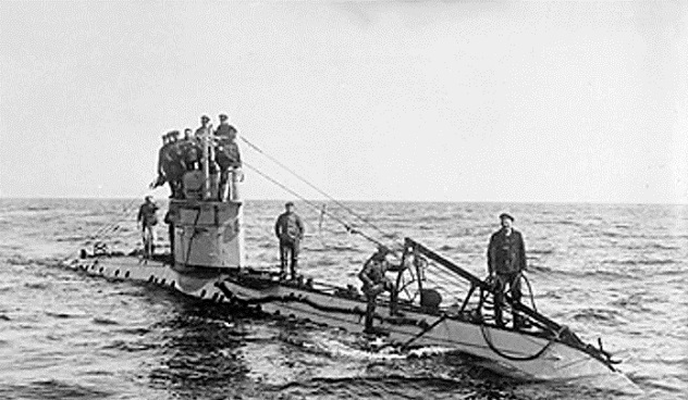 German_UC-1_class_submarine