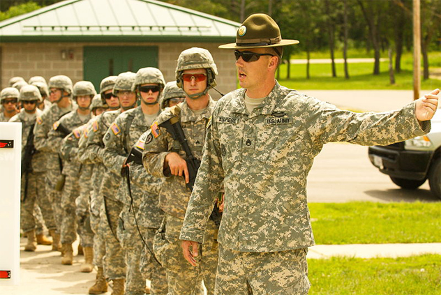 2- drill sergeant