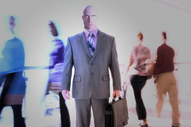 7- gray suit