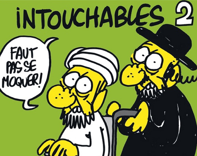 9- intouchables charlie hebdo