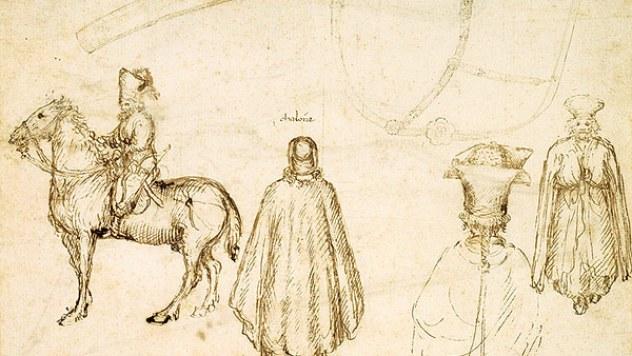 Pisanello,_john_viii_palaeiologus_drawings