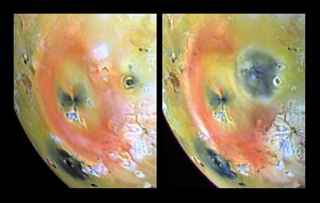 4-pillan - Volcanoes of other worlds - Photos Unlimited