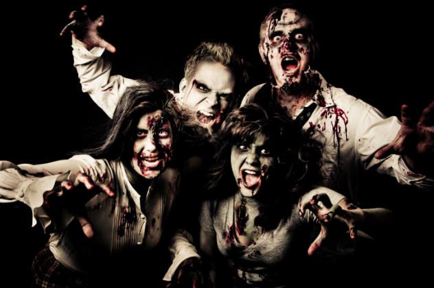 7 zombie attack