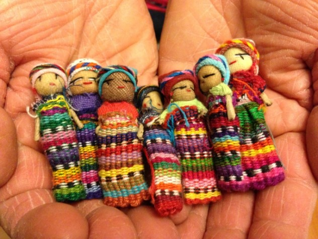 1 worry doll