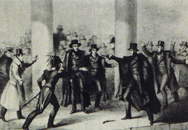 Andrew Jackson Assassination Attempt