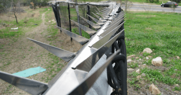 Bladed Fence Featured