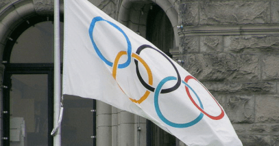Olympic Flag Featured