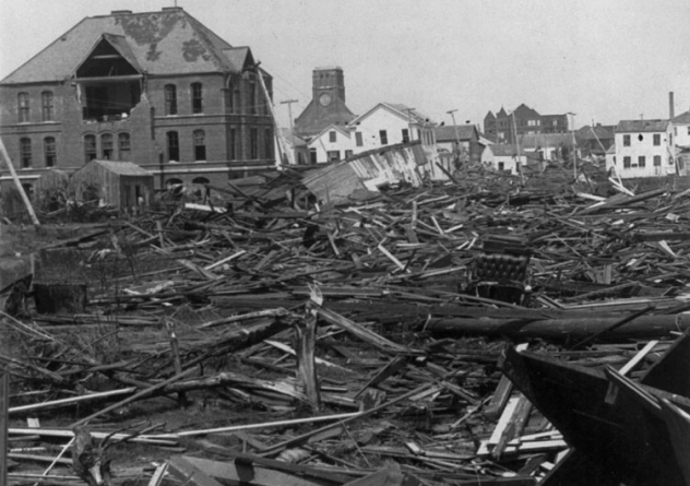 Galveston Hurricane Aftermath