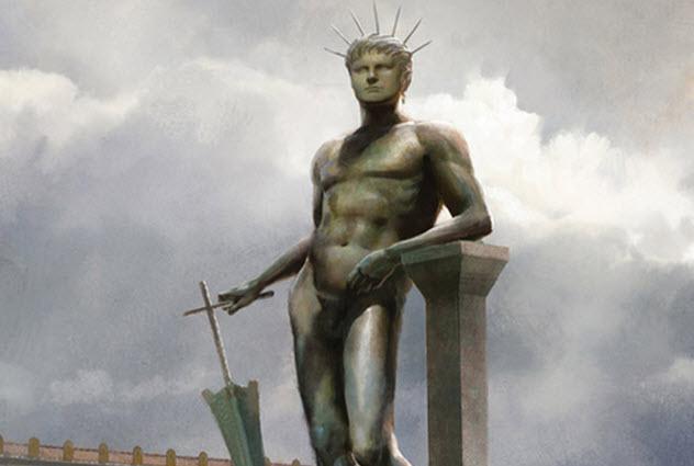 nero-statue Emperor Nero Statue